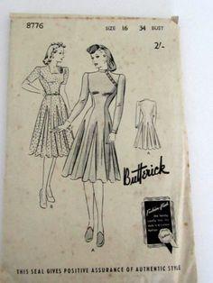 style dress patterns ebay