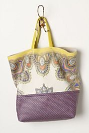Dipped Dots Tote