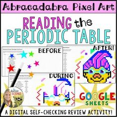 Electromagnetic spectrum science doodle note interactive notebook reading the periodic table pixel art digital review urtaz Gallery