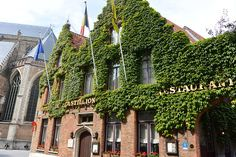 The buildings in Bruges are some of the most adorable in all of Europe. I particularly love the ones covered in vines. Stuff To Do, Things To Do, Bruges, Great Photos, Vines, Buildings, Europe, Building, Vitis Vinifera