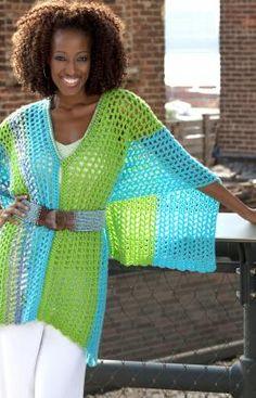 Speedy Multi-wear Poncho - Free Crochet Pattern