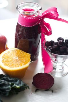 Vitamix Recipe: Cold Fighting Smoothie for Sick Kids with Blueberry, Orange and Kale