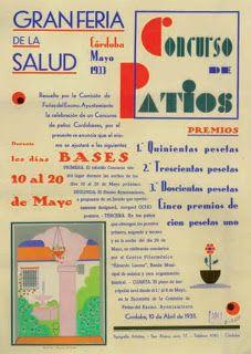 Fiesta de los Patios de Córdoba en carteles | El Blog de La Tabla