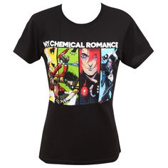 My Chemical Romance Official Store - Danger Days Comic Jr T-Shirt - Apparel Neo Grunge, Grunge Style, Soft Grunge, Style Indie, My Style, Tokyo Street Fashion, Band Merch, Band Shirts, Gerard Way