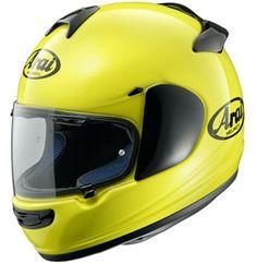 Arai Vector 2 Fluorescent Yellow Helmet