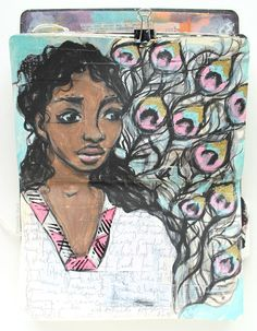 Free Mixed Media Art Journal Class | Beauty Reflected — A Painted Page