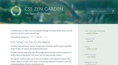 css zen garden zen garden css web pinterest css zen garden - Css Zen Garden