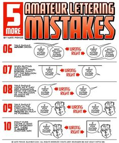 Nate Piekos over at Blambot has created a nifty little tutorial on lettering that is definitely worth checking out. Lettering is one of those things in comics that, if done well, should be almost i. Comic Book Layout, Comic Books Art, Comic Art, Drawing Techniques, Drawing Tips, Drawing Reference, Comic Tutorial, Bd Comics, Comic Drawing
