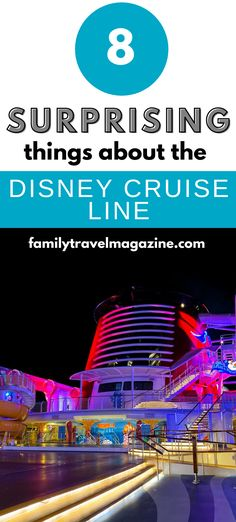The Disney Cruise Line has so many fun activities, amenities, restaurants, and other things that guests love. Read about the most surprising things on the Disney Cruise Line.