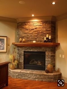 65 Ideas Corner Fireplace Seating Area For 2019 Corner Fireplace Mantels, Fireplace Seating, Brick Fireplace Makeover, Home Fireplace, Fireplace Remodel, Fireplace Hearth, Modern Fireplace, Living Room With Fireplace, Fireplace Surrounds