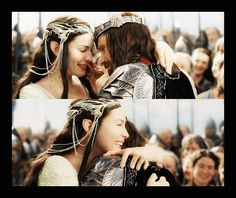 Aragorn II Elessar & Arwen Undómiel | Lord of the Rings: The Return of the King (2003)    #livtyler #viggomortensen #couples