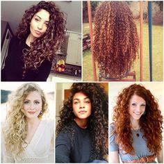 {sos cacheadas} 10 inspirações de cabelos longos    por Dai Cravo | Tpm moderna       - http://modatrade.com.br/sos-cacheadas-10-inspira-es-de-cabelos-longos