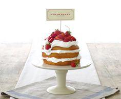 Jenny Steffens Hobick: Strawberry Cream Cake | 4th of July Dessert | Easy | Entertaining