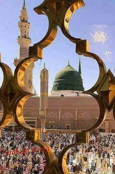 Islamic Images, Islamic Pictures, Islamic Art, Islamic Quotes, Al Masjid An Nabawi, Masjid Al Haram, Mecca Wallpaper, Islamic Wallpaper, Hidden Picture Games