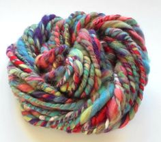 Check out this item in my Etsy shop https://www.etsy.com/listing/280982660/soft-handspun-yarn-tropical-forest