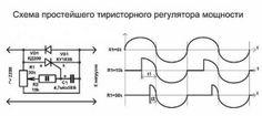 тиристорный регулятор скорости