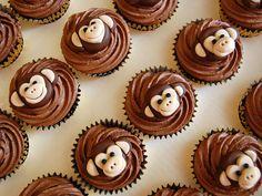 Monkey cupcakes BBCakes
