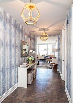 Decorating with Eskayel Wallpaper - Becki Owens