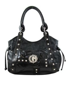 Handbag with Top & Back Zippers – Solid Black « Clothing Impulse