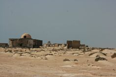 La Güera (الكويرة) ghost town on Ras Nouadhibou peninsula.