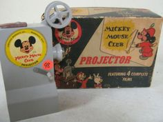 Mickey mouse Club projector!