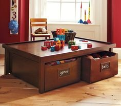Activity Table & Carts - traditional - kids tables - by Pottery Barn Kids