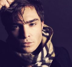 2 of my fave things together, burberry & ed westwick