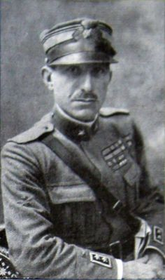 [October Italian ace Pier Ruggero Piccio is shot down by enemy ground fire and captured by Austro-Hungarian troops. He finishes the war with 24 victories, the third-highest-scoring Italian ace of World War I. Leading From The Front, Osprey Publishing, Italian Army, Lieutenant General, National History, Austro Hungarian, Fighter Pilot, World War One, Troops