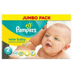 BARGAIN Pampers New Baby Size 2 (Mini) Jumbo Pack – 74 Nappies JUST £6.69 At Amazon - Gratisfaction UK Flash Bargains #flashbargains #gratbaby