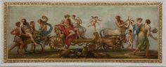 Autumn - Triumph of Silenus, Bacchus and Ariadne - Att.to W. Hamiton