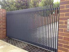vertical steel fence - Google Search