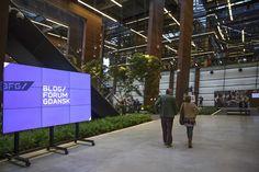 #BFGdansk 2015, European Solidarity Centre. Photo: Paweł Wyszomirski / #ecs #ecsgdansk #gdansk #ilovegdn #conference #blogs #bloggers #architecture