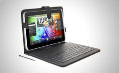 Utiliza tu Tablet de manera más cómoda y segura con esta Funda/Teclado ideal para Tablets de 10 pulgadas http://www.doferta.com/teclado-funda-para-tablet-de-10-pulgadas.html