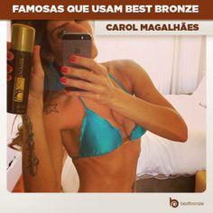A saradíssima Carol Magalhães deu a dica de Best Bronze para as amigas ficarem com a cor linda igual a dela. Legal, né?  Não perca tempo e compre o seu em: www.bestbronze.com.br