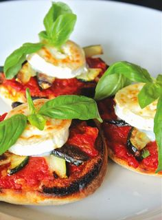 Easy Vegetable Toast recipe - healthy and perfect for summer veggies!