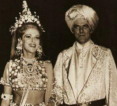 Los barones de Rothschild en el Baile de Proust en 1971