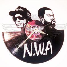 Vinyl Wall Clock N.W.A 2