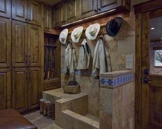 Mud Room And Dog Wash, Traditional Laundry Room, Austin