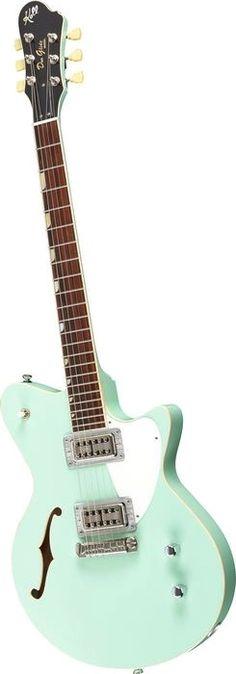 Koll Guitars Duo Glide Surf Green (Musician's Friend)