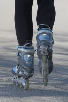 Basic overview of how to exercise with rollerblades