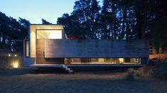 BAK arquitectos construct pedroso house in a pine forest - designboom | architecture & design magazine