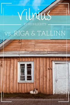 Holiday in the Baltic States: # 5 Highlights & Tips for Vilnius in Lithuania - Travel Ideas 2019 Europe Destinations, Europe Travel Guide, Travel Tips, Travel Ideas, Riga, Lithuania Travel, Holiday Accommodation, Eastern Europe, Wonderful Places