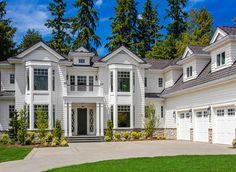 <ul><li>This strikingly beautiful Traditional house plan was designed for a large family, with five bedrooms, multiple home offices, two master suites and a huge bonus space over the three car garage.</li><li>A banquet-sized formal dining room has a butler's pantry nearby to aid in serving.</li><li>Cooking for crowds is easy too in the gigantic kitchen that has two islands and an eight burner cook top.</li><li>The walk-in pant...