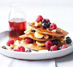tofu brekkie pancakes silken tofu is the secret to making a stack of ...