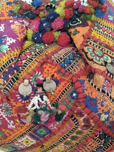 Vintage banjara bag. $160.00, via Etsy.