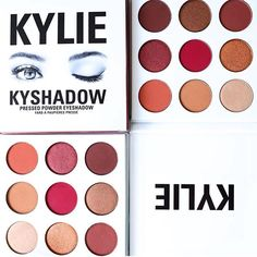 Kylie Cosmetics Burgundy KyShadow Palette October 2016