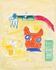 Hans Hofmann, Untitled 1944