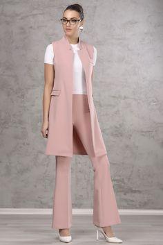 Suit Fashion, Work Fashion, Hijab Fashion, Fashion Dresses, Womens Fashion, Fashion Design, Warm Outfits, Classy Outfits, Trendy Outfits