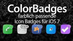 ColorBadges: farblich passende App Badges für iOS 7 - http://apfeleimer.de/2014/02/colorbadges-farblich-passende-app-badges-fuer-ios-7 - Der Cydia Tweak ColorBadges ist schnell erklärt: die kleinen Badges, also die Info-Bubbles am App Icon, werden farblich passend zum App Icon selbst eingefärbt. So bekommt die verpasste WhatsApp Nachricht ein grünes Badge am Icon, eine verpasste Facebook Nachricht ein blaues Badge. Während Ope...