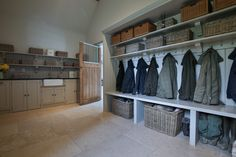Cotswold Boot Room There every step of the way Daniel will manage your project from start to finish, with a meticulous eye for detail and an insistence for perfection. From your initial enquiry it can be as little as 5 weeks Boot Room Storage, Utility Room Storage, Hallway Storage, Cupboard Storage, Hall Storage Ideas, Kitchen Storage, Room Ideas Bedroom, Boys Room Decor, Diy Bedroom